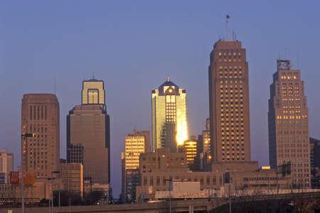 mococa: Kansas City skyline at sunrise, MO