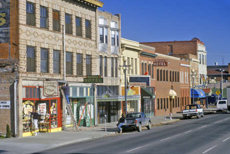 historic district: Historic District and buildings in Billings, MT