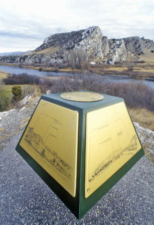 Beginning of Missouri River, Missouri Headwaters State Park,3 Forks,Three Forks, MT Editorial