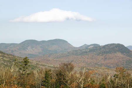 notch: Crawford Notch State Park in White Mountains of New Hampshire, New England Editorial