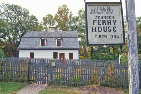 Ferry house in Washington Crossing State Park on Route 29,NJ