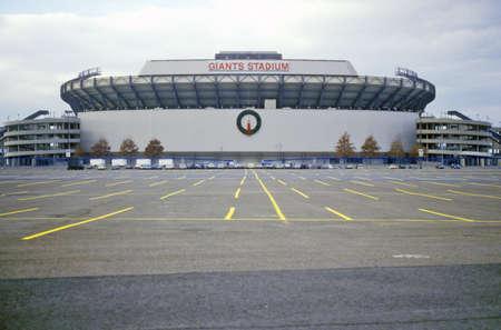 Giants Stadium in New Jersey Redactioneel