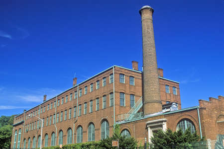 Thomas Edison Labs bij de Edison National Historic Site in West Orange, NJ Redactioneel