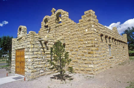 nm: Sacred Heart Church and Mission, Quemado, NM Editorial