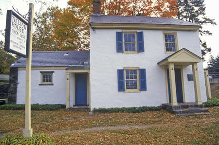 Nelson House in Washington Crossing State Park, on Scenic Route 29, NJ