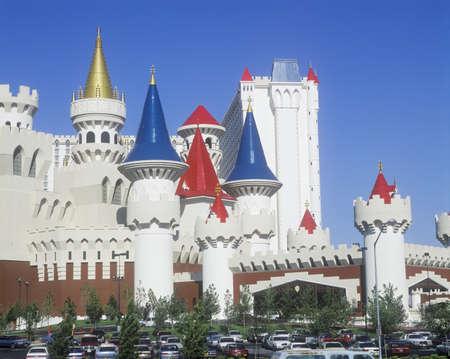 nv: Excalibur Hotel and Casino, Las Vegas, NV Editorial