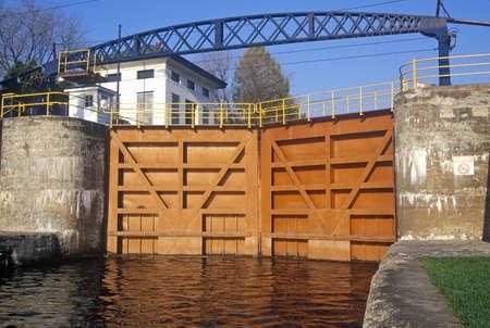 Erie Canal, 20 mile Park locks, Erie, NY