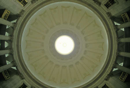 federal hall: Interior ceiling of the Federal Hall, New York, NY