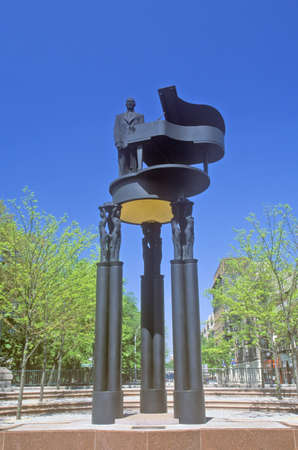 duke: Duke Ellington Statue, New York City, NY