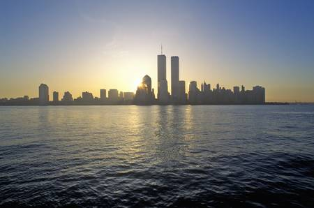Skyline of New York City from New Jersey