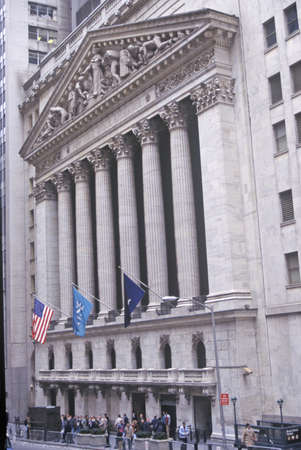 new york stock exchange: Borsa di New York, Wall Street, New York, NY Editoriali