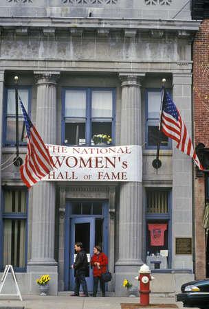 seneca: Exterior of Womens Hall of Fame, Seneca Falls, NY Editorial