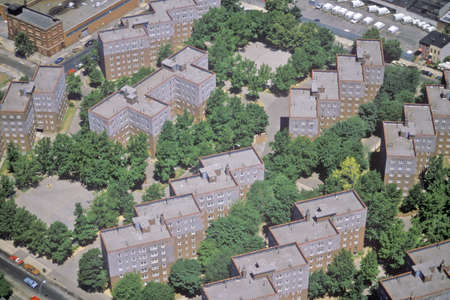 Aerial view of Queens, NY