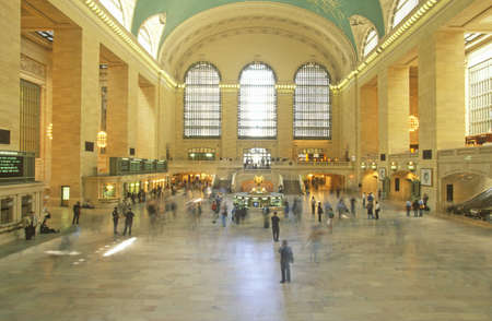 Interior of Central Station after renovation, New York City, NY