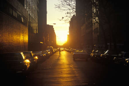 Amanecer en el Lower East Side, Nueva York