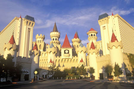 silver state: The Excalibur Hotel and Casino, Las Vegas, NV