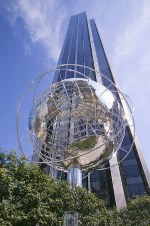 Sculptor of Earth in front of Trump Towers in Manhattan, New York City, New York