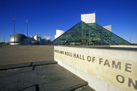 Rock and Roll Hall of Fame Museum, Cleveland, OH Stock Photo - 20512531