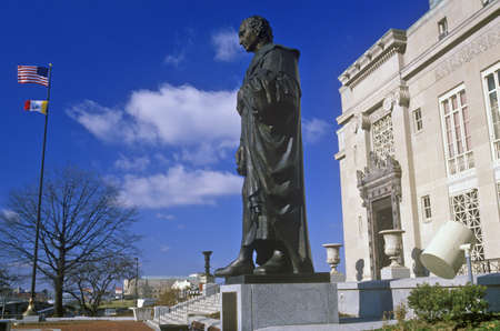 christopher columbus: Statue of Christopher Columbus statue, Columbus, OH