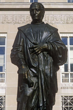 founder: Statue of Christopher Columbus statue, Columbus, OH