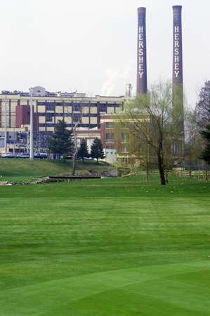 Hershey, PA, home of Hershey Chocolate Publikacyjne