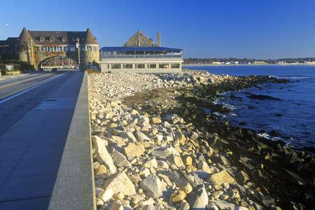 ri: Narragansett Pier on Scenic Route 1S, RI