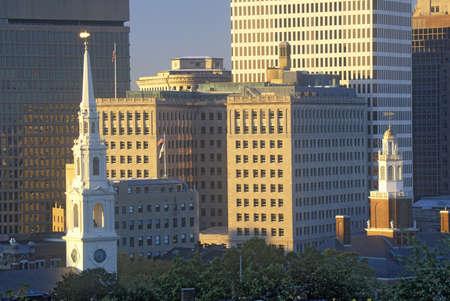 ri: Skyline of Providence, RI