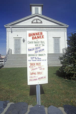 Sign outside of Seakonnet Lodge along Route 77 in Little Compton, RI