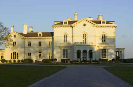 beechwood: Mrs. Astors Beechwood mansion at Bellevue Avenue in Newport, Rhode Island Editorial