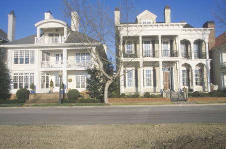 tn: Residential street in Memphis, TN
