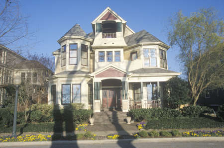 tn: Victorian Era home in Memphis, TN Editorial