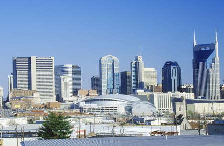 tn: State capitol Nashville, TN skyline