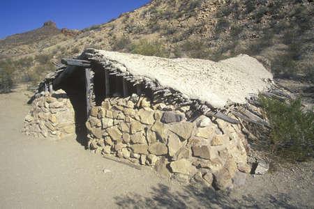 dwelling: Desert dwelling in Big Bend National Park, TX