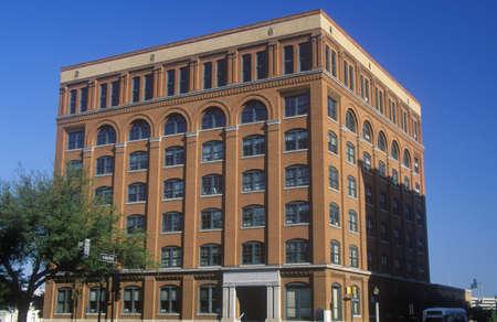 depository: Texas School Book Depository Building, site of JFK assassination, Dallas, TX