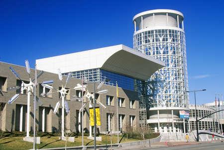 salt lake city: Center Convention Bureau de Convenciones y Visitantes, Salt Lake City, UT Editorial