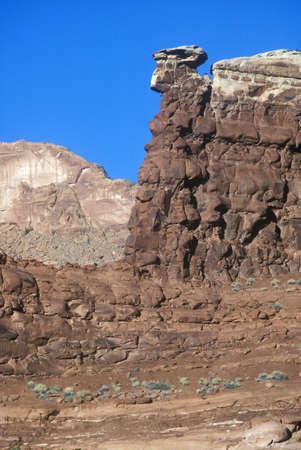 ut: Rock formation in southern UT