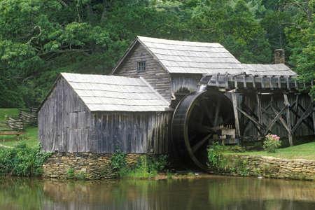 va: Mabry Mill on Blue Ridge Parkway, VA