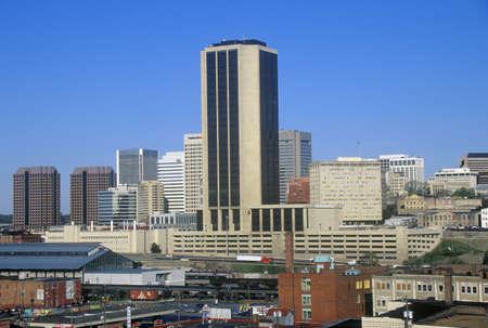 Skyline of Richmond, VA, state capitol Redakční