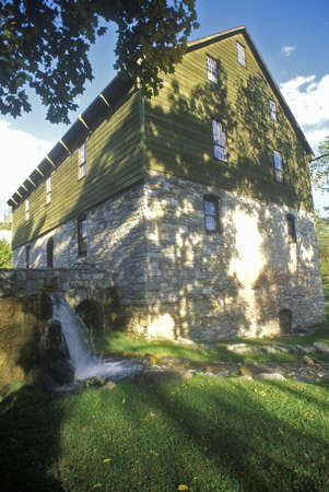 grist mill: Burwell Morgan Grist Mill in Millwood, VA Editorial