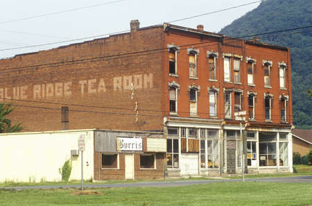 dominion: Blue Ridge Tea Room in Appalachia, VA Editorial