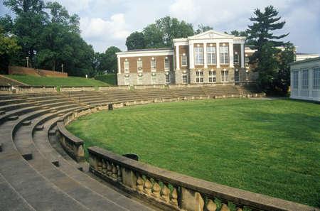 va: Amphitheatre at University of Virginia, Charlottesville, VA Editorial
