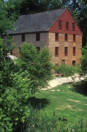 grist: Colvin Run Grist Mill, Fairfax, VA