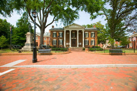 dominion: Historic district of  Charlottesville, Virginia, home of President Thomas Jefferson