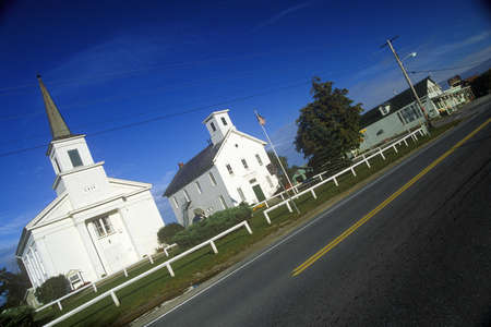 Churches in Addison, VT along Scenic Route 22A