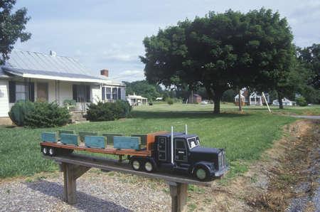 va: A big rig truck mailbox, VA