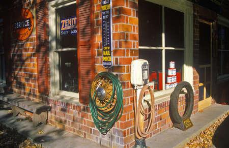 va: Antique historic gas station,  Mathews, VA