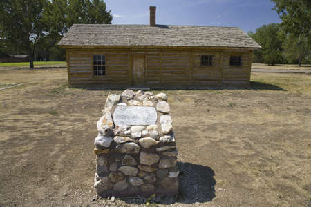 sioux: Historic Fort Robinson State Park, Northwestern Nebraska, west of Crawford, the site in 1879 where the death of famed Sioux Chief Crazy Horse occurred