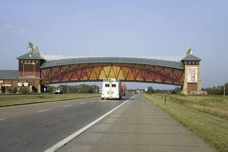 interstate 80: Great Platte River Road Archway Monument, Lincoln Highway, Interstate 80, Kearney, Nebraska