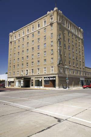 cultural artifacts: Historic Hotel Pawnee, North Platte, Nebraska Editorial
