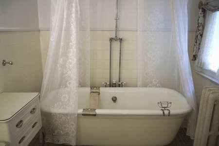 redstone: Antique bathtub in Redstone Castle, in Redstone Colorado, off Colorados West Elk Loop Scenic Byway Editorial